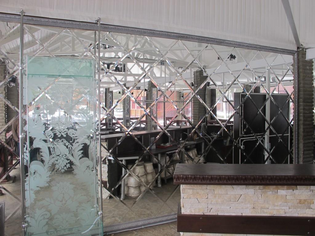 большое зеркало на стену