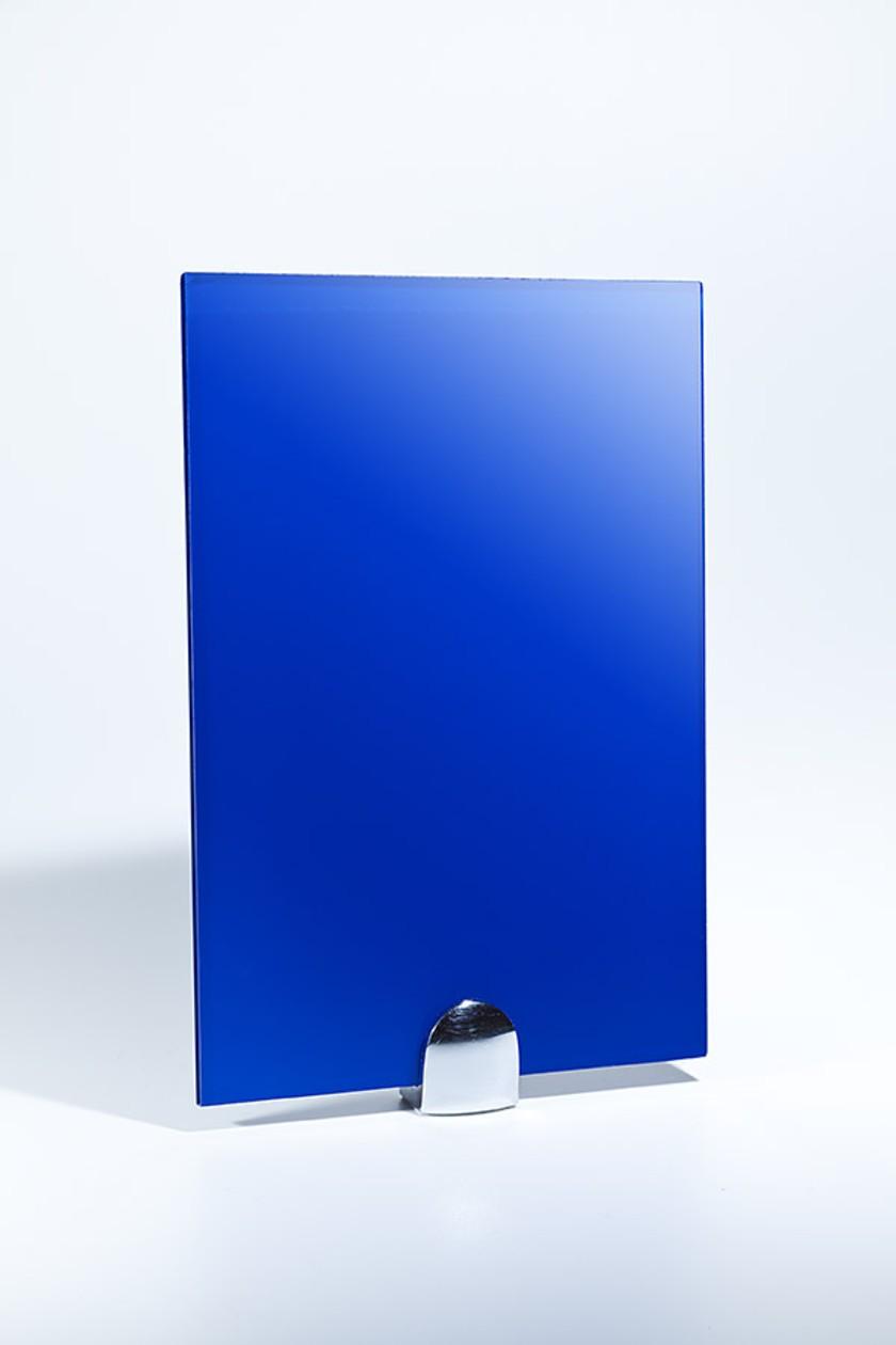 цветное стекло синее