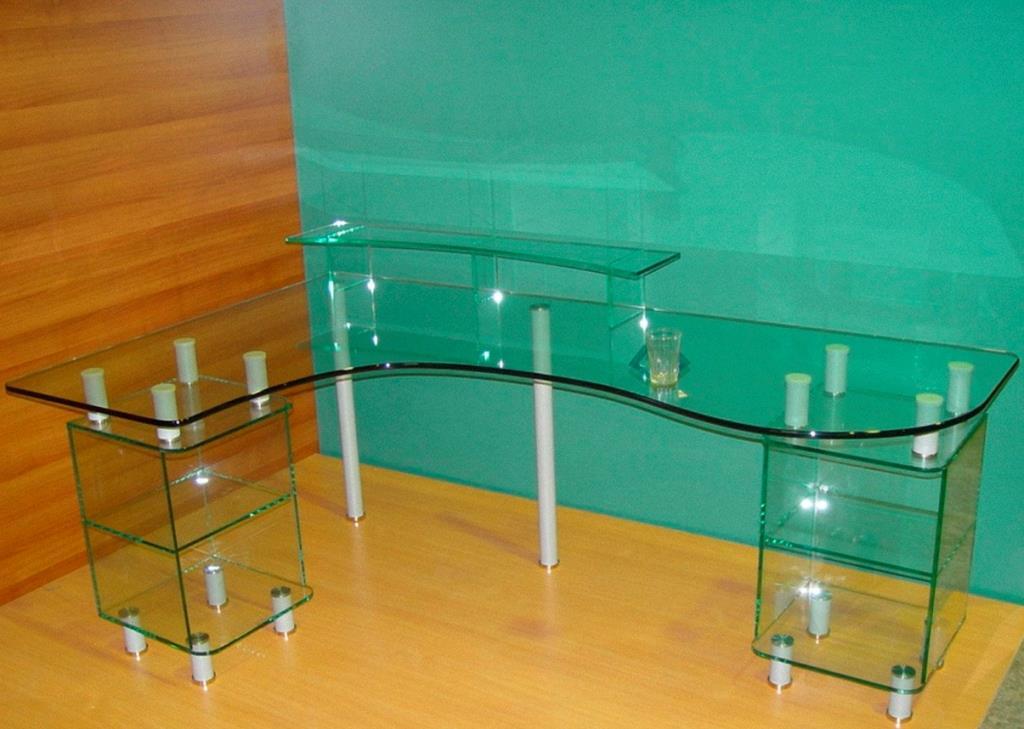 мебель из стекла на заказ