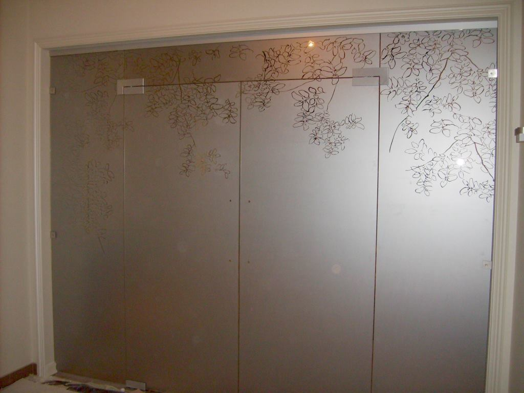 перегородки раздвижные стеклянные