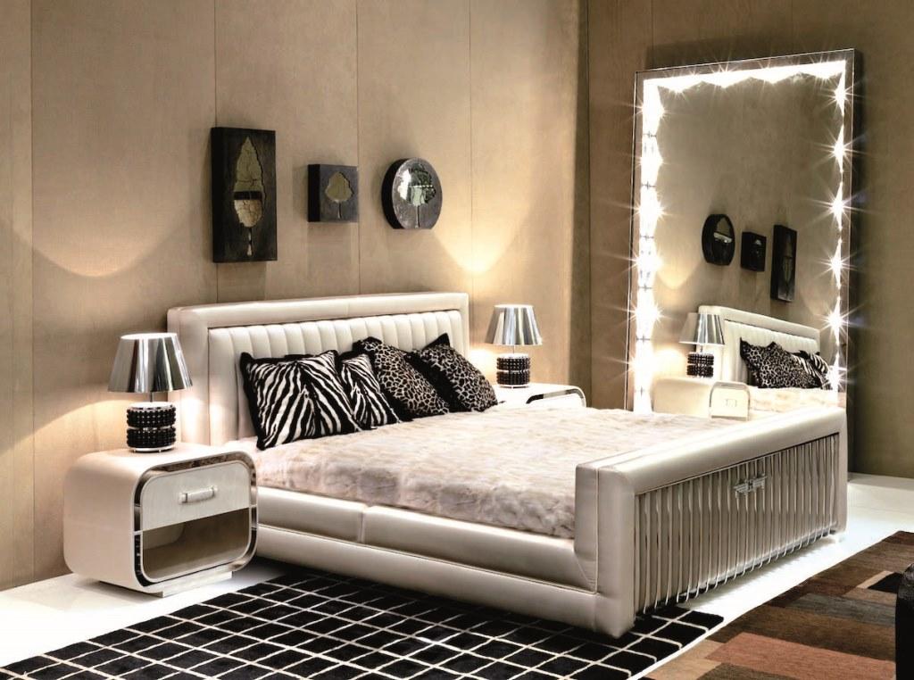 зеркала с подсветкой для спальни